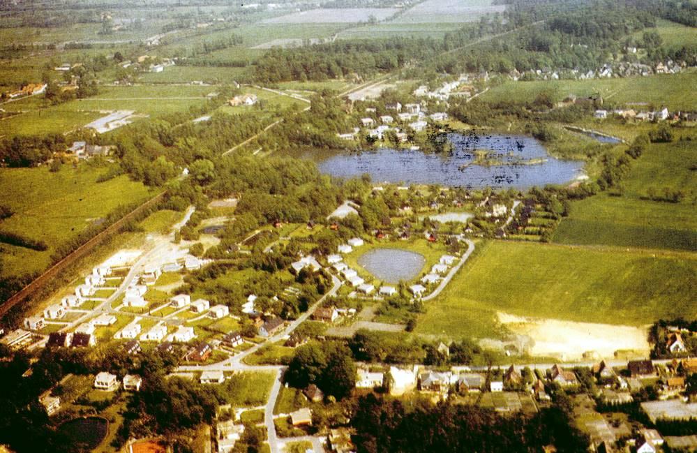 Luftbild vom historischen Rethorn