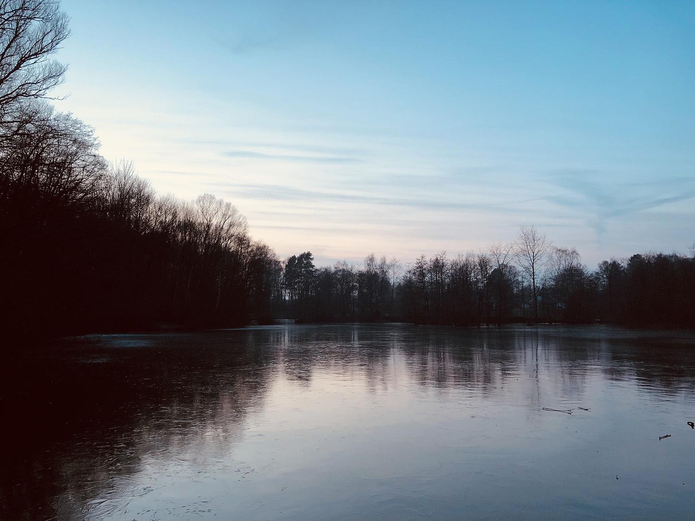 Kamerner See im Winter
